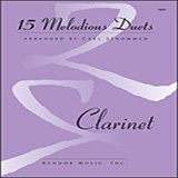 Download or print 15 Melodious Duets Sheet Music Notes by Carl Strommen for Brass Ensemble