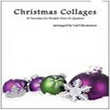 Download or print Christmas Collages - String Bass Sheet Music Notes by Carl Strommen for String Ensemble