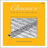 Download Carl Strommen Classics For Flute Quartet - 2nd Flute Sheet Music arranged for Wind Ensemble - printable PDF music score including 16 page(s)