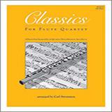 Download Carl Strommen Classics For Flute Quartet - 4th Flute Sheet Music arranged for Wind Ensemble - printable PDF music score including 16 page(s)