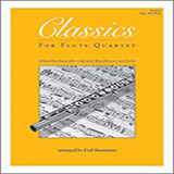Download Carl Strommen Classics For Flute Quartet - opt. Alto Flute Sheet Music arranged for Wind Ensemble - printable PDF music score including 16 page(s)
