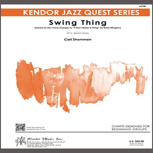 Carl Strommen Swing Thing - Eb Baritone Saxophone profile picture