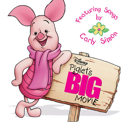 Carly Simon Sing Ho For The Life Of A Bear (Expotition March) (from Piglet's Big Movie) profile picture
