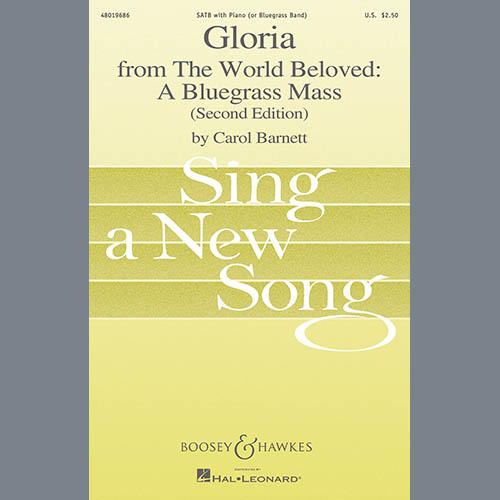Carol Barnett Gloria (from The World Beloved: A Bluegrass Mass) - Mandolin profile picture