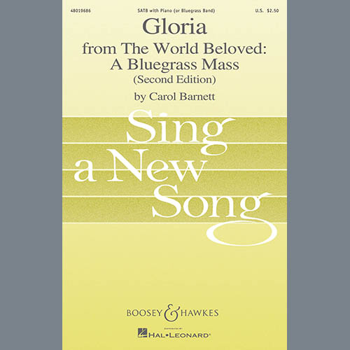 Carol Barnett Gloria (from The World Beloved: A Bluegrass Mass) - Score profile picture