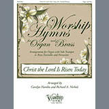 Download or print Christ the Lord Is Risen Today Sheet Music Notes by Carolyn Hamlin and Richard A. Nichols for Organ