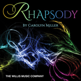 Download or print Rhapsody In D Minor Sheet Music Notes by Carolyn Miller for Educational Piano