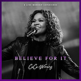Download CeCe Winans Believe For It Sheet Music arranged for Piano, Vocal & Guitar (Right-Hand Melody) - printable PDF music score including 5 page(s)