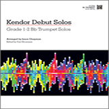 Download or print Kendor Debut Solos - Bb Trumpet Sheet Music Notes by Chapman for Brass Solo