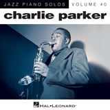 Download or print Out Of Nowhere Sheet Music Notes by Charlie Parker for Piano