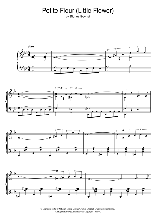 Download Chris Barber's Jazz Band 'Petite Fleur (Little Flower)' Digital Sheet Music Notes & Chords and start playing in minutes