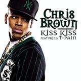 Download or print Kiss Kiss (feat. T-Pain) Sheet Music Notes by Chris Brown for Piano, Vocal & Guitar (Right-Hand Melody)