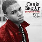 Download Chris Brown Superhuman (feat. Keri Hilson) Sheet Music arranged for Piano, Vocal & Guitar - printable PDF music score including 6 page(s)