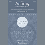 Download Christopher Tin Astronomy (from To Shiver The Sky) Sheet Music arranged for SSATBB Choir - printable PDF music score including 13 page(s)