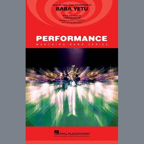 Christopher Tin Baba Yetu (from Civilization IV) (arr. Matt Conaway) - Conductor Score (Full Score) profile picture