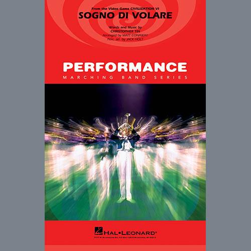 Christopher Tin Sogno di Volare (from Civilization VI) (arr. Matt Conaway) - Conductor Score (Full Score) profile picture