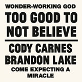 Download Cody Carnes Too Good To Not Believe (feat. Brandon Lake) Sheet Music arranged for Piano, Vocal & Guitar (Right-Hand Melody) - printable PDF music score including 10 page(s)
