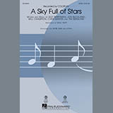 Download or print A Sky Full of Stars (arr. Mac Huff) - Acoustic Guitar Sheet Music Notes by Coldplay for Choir Instrumental Pak
