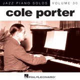 Download or print At Long Last Love Sheet Music Notes by Cole Porter for Piano