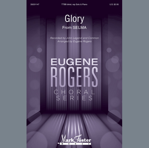 Common & John Legend Glory (from Selma) (arr. Eugene Rogers) - Score profile picture