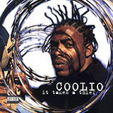 Download Coolio Fantastic Voyage Sheet Music arranged for Drums Transcription - printable PDF music score including 1 page(s)