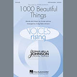 Download Annie Lennox 1000 Beautiful Things (arr. Craig Hella Johnson) Sheet Music arranged for Choral - printable PDF music score including 18 page(s)