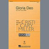 Download Cristi Cary Miller Gloria Deo Sheet Music arranged for 2-Part, 3-Part Mixed - printable PDF music score including 11 page(s)