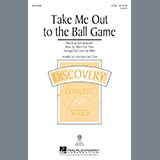 Download Albert von Tilzer Take Me Out To The Ball Game (arr. Cristi Cary Miller) Sheet Music arranged for 2-Part Choir - printable PDF music score including 11 page(s)