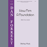 Download or print How Firm A Foundation Sheet Music Notes by Dan Forrest for SSAA Choir
