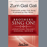 Download or print Zum Gali Gali Sheet Music Notes by Dan Miner for TBB Choir