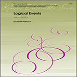 Download or print Logical Events - Percussion 1 Sheet Music Notes by Daniel Fabricious for Percussion Ensemble