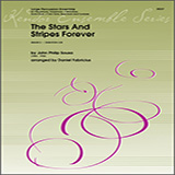 Download or print The Stars And Stripes Forever - Percussion 6 Sheet Music Notes by Daniel Fabricious for Percussion Ensemble