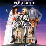Download or print Beetlejuice (Main Theme) Sheet Music Notes by Danny Elfman for Piano