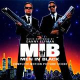 Download or print M.I.B. Main Theme Sheet Music Notes by Danny Elfman for Piano