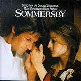 Download or print Sommersby - Main Titles Sheet Music Notes by Danny Elfman for Piano