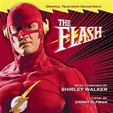 Download or print Theme From The Flash Sheet Music Notes by Danny Elfman for Piano
