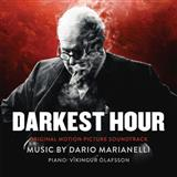 Download or print A Telegram From The Palace (from Darkest Hour) Sheet Music Notes by Dario Marianelli for Piano