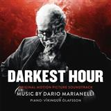 Download or print The Words Won't Come (from Darkest Hour) Sheet Music Notes by Dario Marianelli for Piano