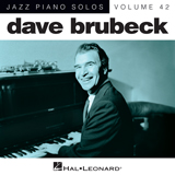 Download or print The Trolley Song Sheet Music Notes by Dave Brubeck for Piano