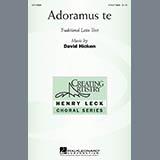 Download David Hicken Adoramus Te Sheet Music arranged for 3-Part Treble Choir - printable PDF music score including 14 page(s)