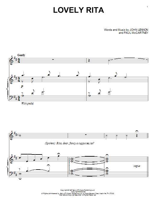 Download David Lanz 'Lovely Rita' Digital Sheet Music Notes & Chords and start playing in minutes