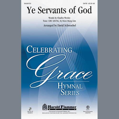 David Schwoebel Ye Servants of God - Flute pictures
