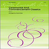 Download David Uber Ceremonial And Commencement Classics - 2nd Trombone Sheet Music arranged for Brass Ensemble - printable PDF music score including 4 page(s)