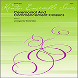 Download David Uber Ceremonial And Commencement Classics - Trombone Sheet Music arranged for Brass Ensemble - printable PDF music score including 4 page(s)