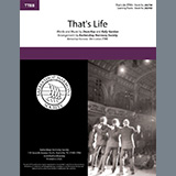 Download or print That's Life (arr. Barbershop Harmony Society) Sheet Music Notes by Dean Kay & Kelly Gordon for SSAA Choir