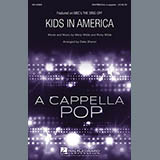Download Kim Wilde Kids In America (arr. Deke Sharon) Sheet Music arranged for SATB - printable PDF music score including 18 page(s)