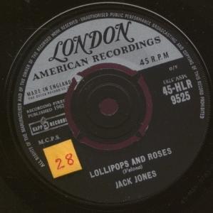 Jack Jones Lollipops And Roses (arr. Deke Sharon) profile picture