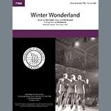 Download or print Winter Wonderland (arr. Ed Waesche) Sheet Music Notes by Dick Smith & Felix Bernard for SSAA Choir