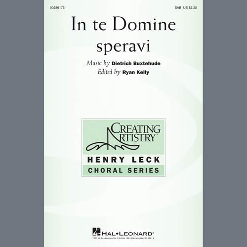 Dietrich Buxtehude In Te Domine Speravi (ed. Ryan Kelly) - C Instrument II profile picture