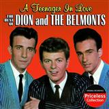 Download Dion & The Belmonts A Teenager In Love Sheet Music arranged for Easy Guitar - printable PDF music score including 2 page(s)